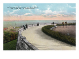 Montreal, Quebec - Mount Royal Look-Out Terrace Scene Posters by  Lantern Press
