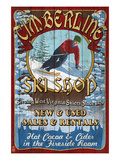Timberline, West Virginia - Ski Shop Posters by  Lantern Press