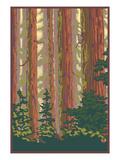 Forest View Prints by  Lantern Press