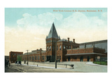 Rochester, New York - New York Central Railroad Station Prints by  Lantern Press