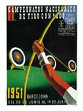 Archery Competition Promotion Affiches par  Lantern Press
