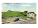 Rochester, New York - Cobbs Hill Reservoir Gate Houses View Art by  Lantern Press