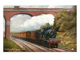 England - Great Eastern Railways Continental Express Train Posters by  Lantern Press
