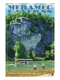 Meramec Caverns, Missouri - Meramec River Cruise Posters by  Lantern Press