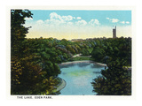 Cincinnati, Ohio - Eden Park Lake Scene Posters by  Lantern Press