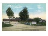 Winona Lake, Indiana - Penn Station Exterior View Prints by  Lantern Press