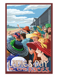 Kentucky - Ladies Day at the Track Horse Racing Posters by  Lantern Press