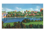 Knoxville, Tennessee - Panoramic View of the City Skyline Kunstdrucke von  Lantern Press