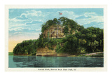 Starved Rock State Park, Illinois - Starved Rock Scene Prints by  Lantern Press