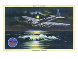 California - Keep &#39;em Flying, WWII Aviation Promotion Posters by Lantern Press 