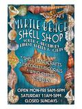 Myrtle Beach, South Carolina - Shell Shop Posters by  Lantern Press