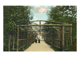 Rochester, New York - Genesee Valley Park, Rustic Entrance to Subway Prints by  Lantern Press
