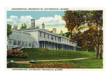 Quebec, Canada - View of Spencerwood, the Governor's Residence Print by Lantern Press