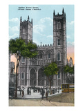 Montreal, Quebec - Notre Dame Church Exterior Posters by  Lantern Press