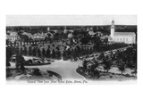 Miami, Florida - Royal Palm Hotel View of Surrounding Area Prints by  Lantern Press