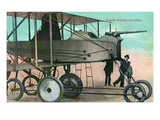 View of the Bleriot Monoplane Prints by  Lantern Press