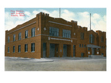 Austin, Minnesota - Fire Station and Armory Exterior View Prints by  Lantern Press