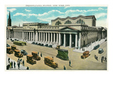 New York City, New York - Pennsylvania Station View Poster by  Lantern Press