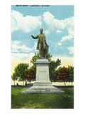 Quebec, Canada - Cartier Monument Scene Prints by Lantern Press