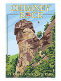 Chimney Rock State Park, North Carolina Posters by Lantern Press