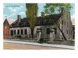 Montreal, Quebec - Chateau De Ramesay Exterior Print by Lantern Press