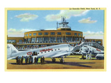 New York City, New York - View of La Guardia Airport Prints by  Lantern Press