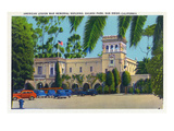 San Diego, California - Balbo Park, American Legion War Memorial Bldg View Prints by  Lantern Press