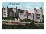 Montreal, Quebec - Royal Victoria Hospital Exterior Prints by  Lantern Press
