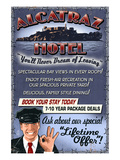 Alcatraz Island Hotel - San Francisco, CA Affiches par Lantern Press 