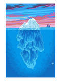 Iceberg Prints by  Lantern Press
