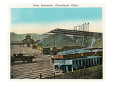 Cleveland, Ohio - Iron Mining and Industry Scene Posters by  Lantern Press
