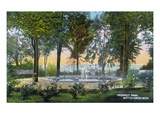 Battle Creek, Michigan - Prospect Park Scene Print by Lantern Press