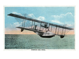 View of the Curtiss Sea Gull Airplane Posters by  Lantern Press