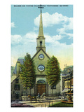 Quebec, Canada - Church of Notre Dame of Victory Exterior Prints by  Lantern Press