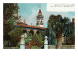 St. Augustine, Florida - Ponce De Leon Outer Court Colonnades Scene Prints by  Lantern Press