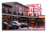 Seattle, Washington - Pike Place Market Daytime Posters by  Lantern Press
