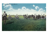 Camp Life - US Field Artillery Battery Scene Posters by  Lantern Press