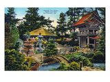 San Francisco, California - Golden Gate Park Japanese Tea Garden Posters by Lantern Press