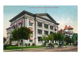 Los Angeles, California - Exterior View of the Pacific Hospital Prints by Lantern Press
