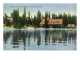 Lake Tahoe, California - Steamer Tahoe View of Tahoe Tavern, Casino Posters by  Lantern Press