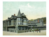 Santa Catalina Island, California - Hotel Metropole Exterior View Posters by  Lantern Press