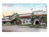 Los Angeles, California - View of the Shrine and Auditorium Prints by  Lantern Press