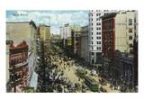 Winnipeg, Manitoba - Main Street Scene Posters par  Lantern Press