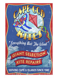 Cape Cod Kite Shop - Cape Cod, Massachusetts Posters by  Lantern Press