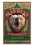 Seward, Alaska - Grizzly Ale Prints by  Lantern Press