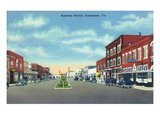 Kissimmee, Florida - Business Section View Posters by Lantern Press
