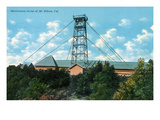 California - Exterior View of Mt. Wilson Observatory Print by  Lantern Press