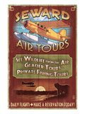 Seward, Alaska - Air Tours Posters by  Lantern Press