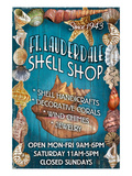 Ft. Lauderdale, Florida - Shell Shop Poster by  Lantern Press