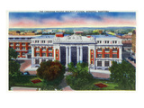 Winnipeg, Manitoba - Canadian Pacific Railway Station Exterior Prints by  Lantern Press